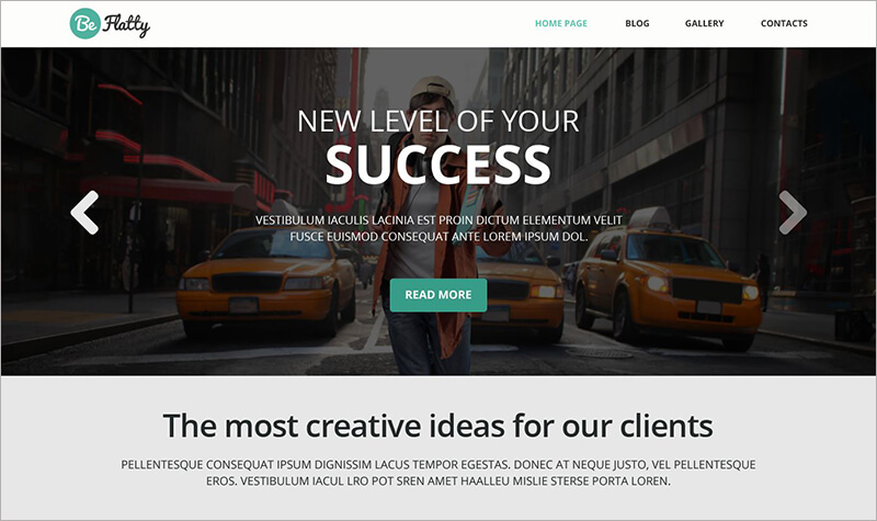 Creative Project Bootstrap Theme