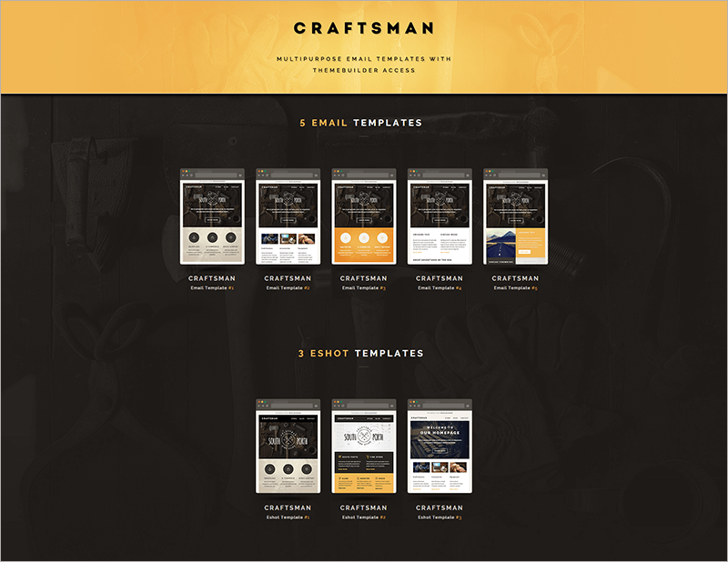 Email & Eshot Notification Template