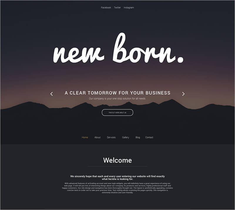 Free Business Agent WordPress Theme