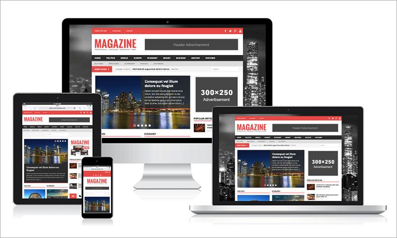 Free Political Magazine WordPress Theme