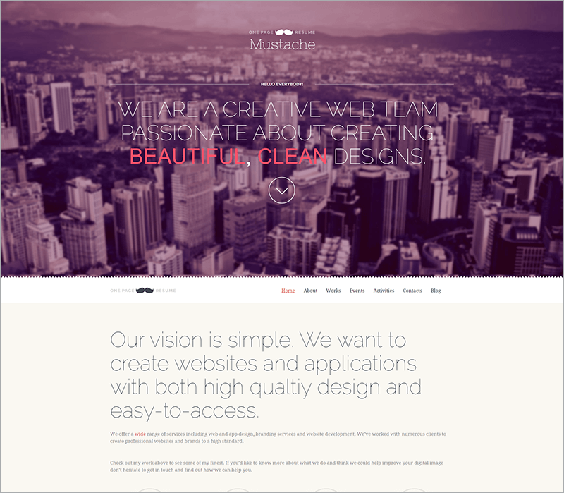 Free Retina WordPress Theme