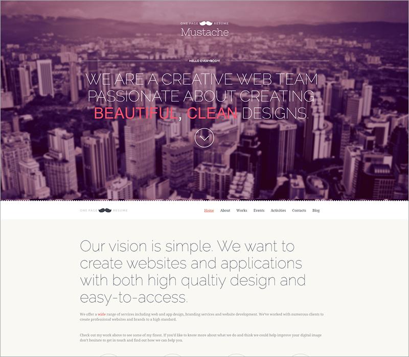 Free Retina WordPress Theme