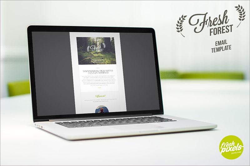 FreshForest - Email PSD Template