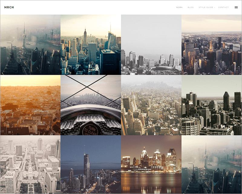 Minimal Portfolio & Blog theme