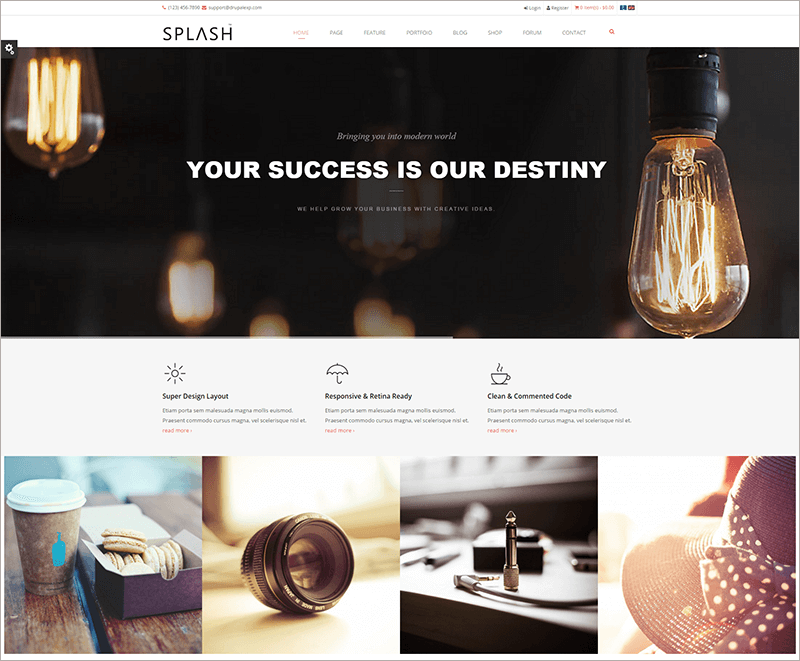Multi Purpose Creative Drupal Template