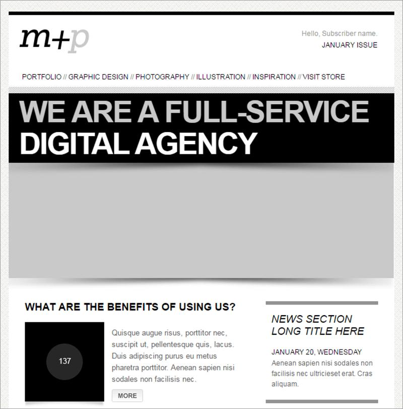 Multi Purpose HTML Email Template