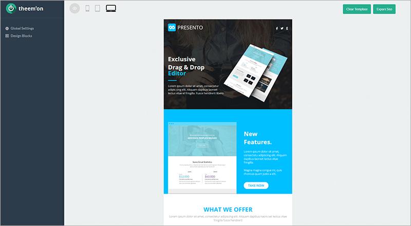 Multi purpose Email Set Template