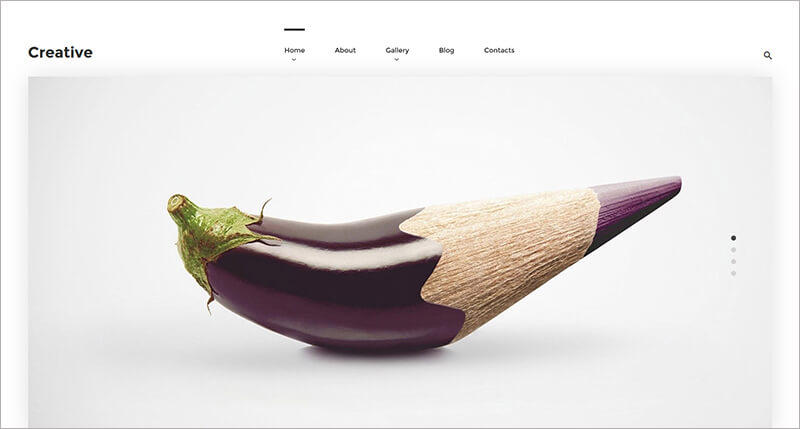 New Creative Bootstrap Theme