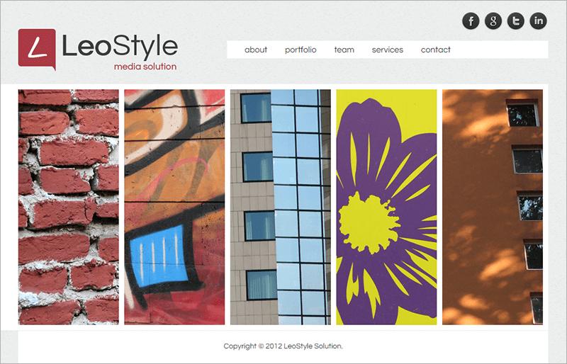 New HTML Portfolio Website Template