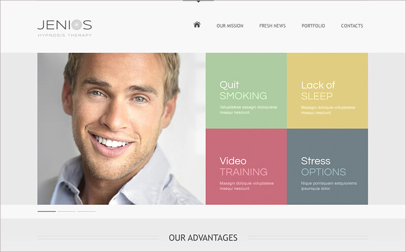 New Hypnosis Drupal Template