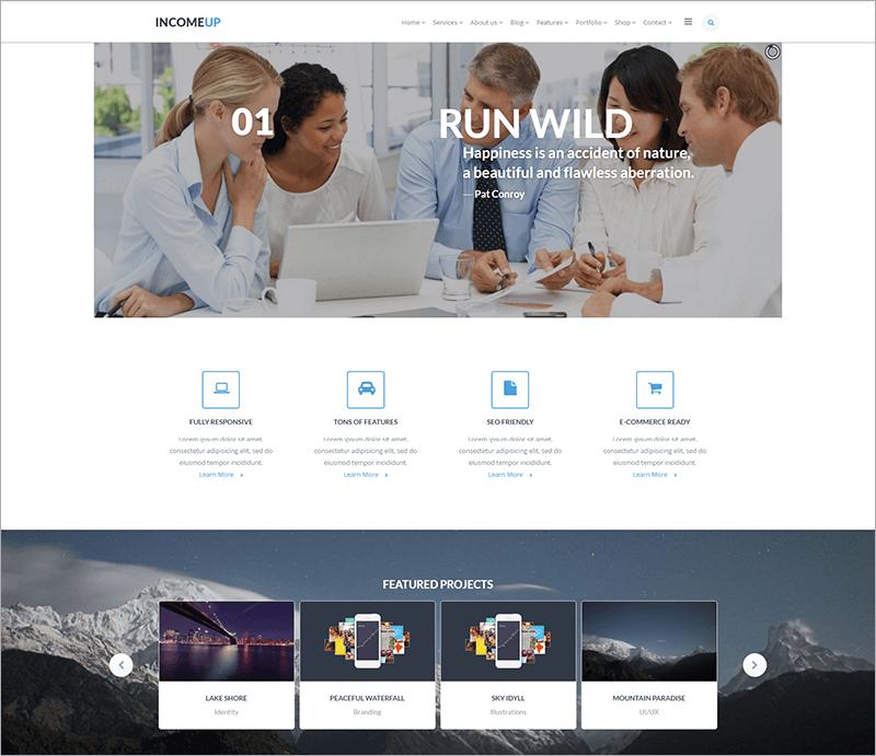 New Multipurpose Business Joomla Template