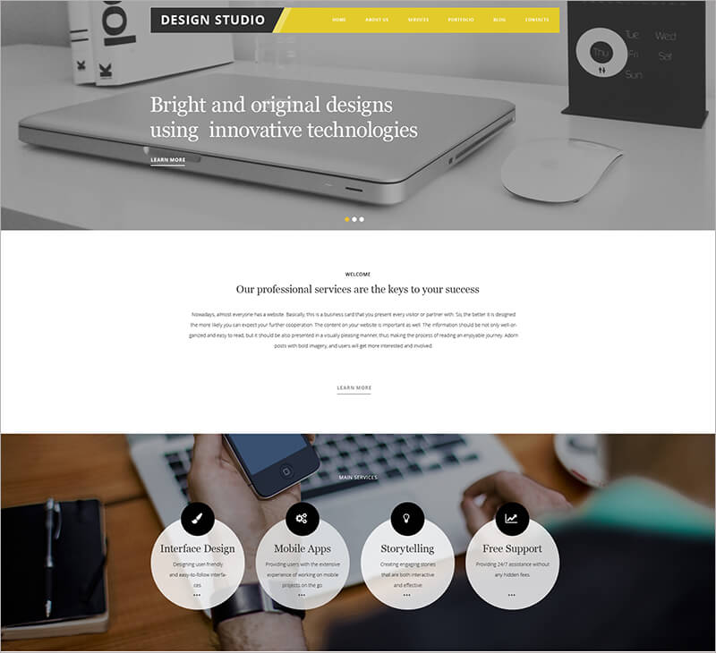 New Portfolio Blog Theme