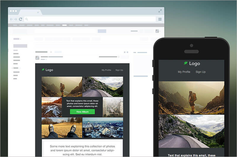 Photography Responsive Email Template