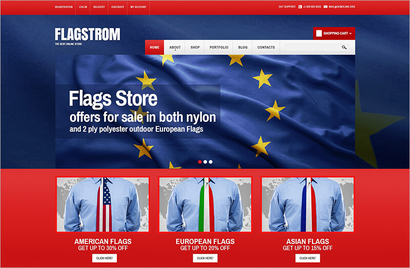 Politics Responsive Bootstrap Theme
