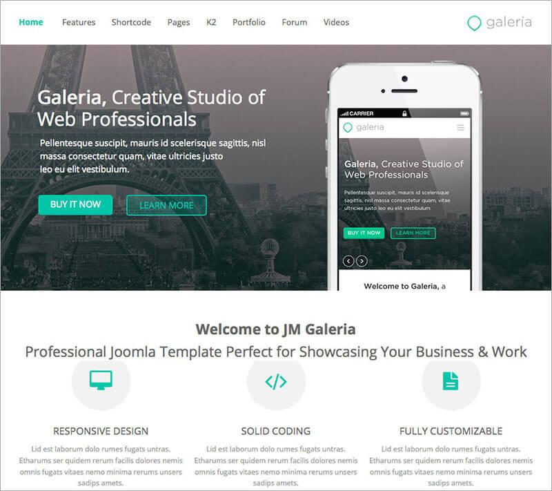 Premium Creative Joomla Template