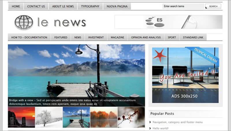 Premium News Html Theme