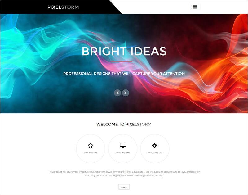 Premium Portfolio Blog Template