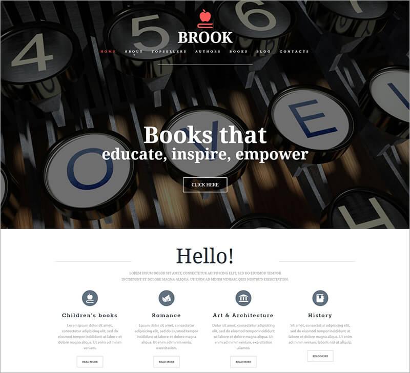 Publishing Company Joomla Template