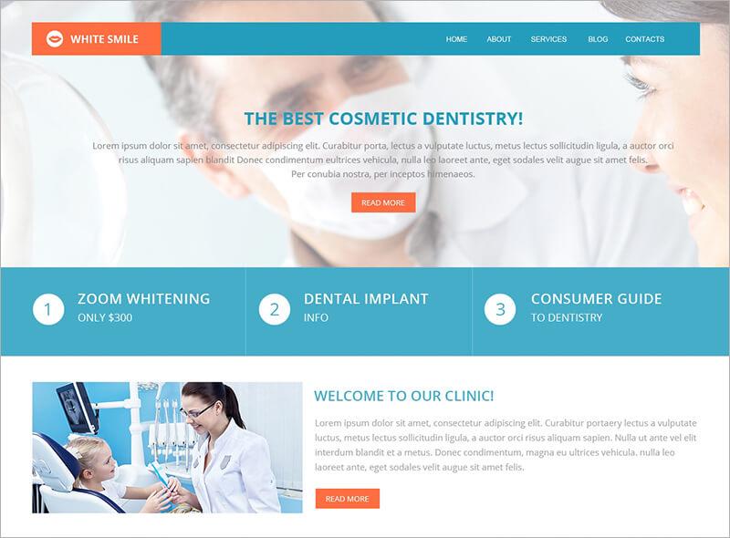 Responsive Dentistry Drupal Template
