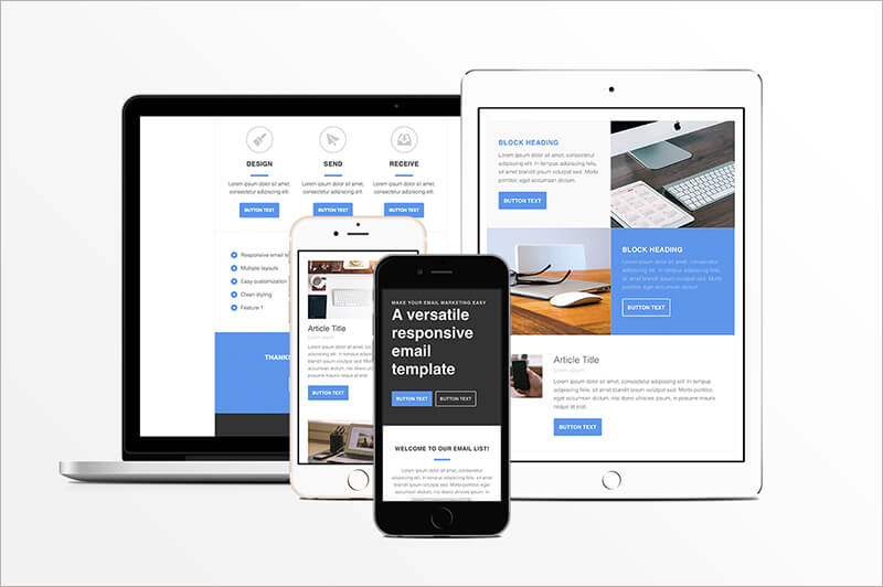 Responsive HTML Email Template