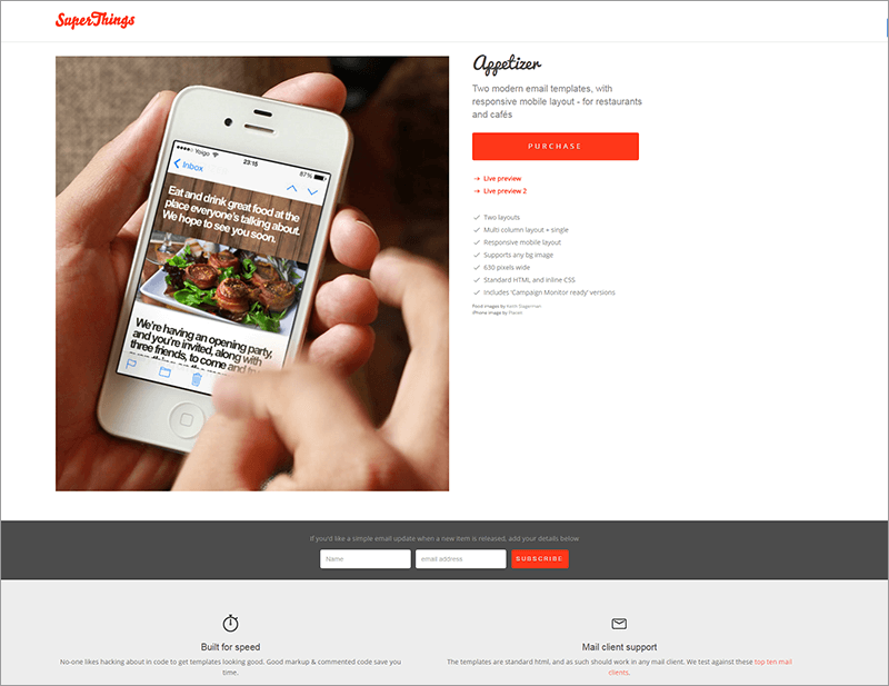 Responsive Html Email Theme