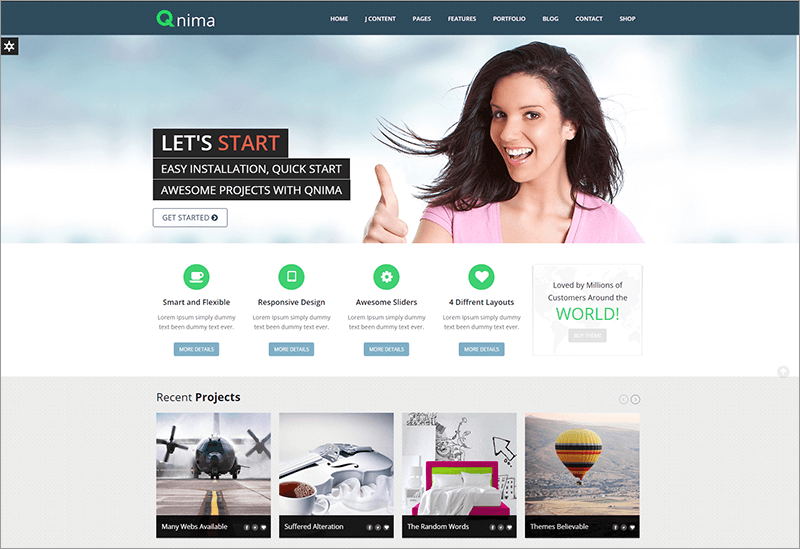 Responsive Multi Purpose Joomla Template