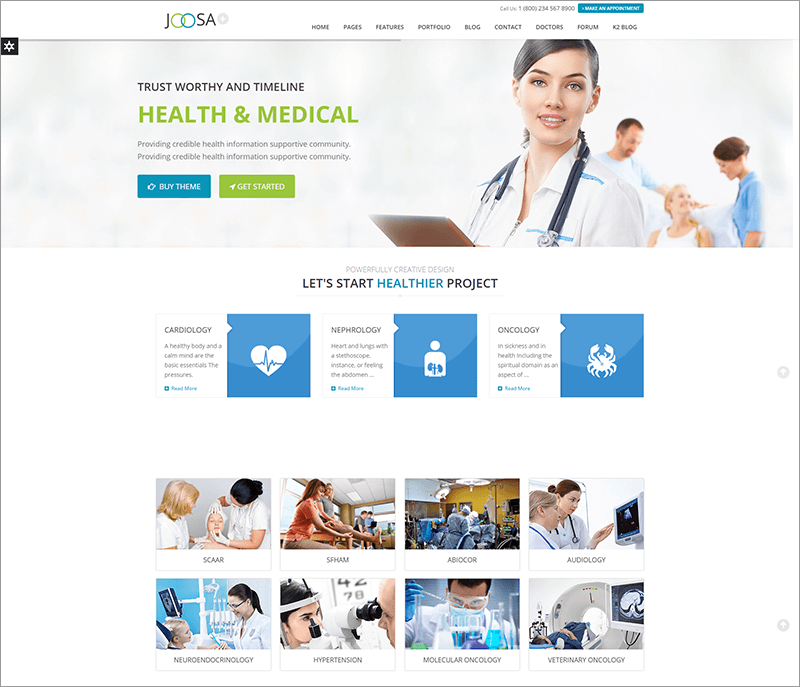 Responsive Ultimate Joomla Theme