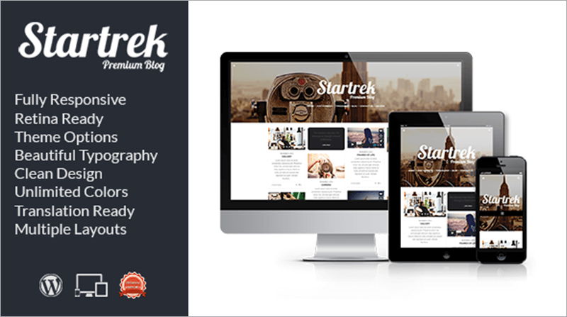 Retina Responsive WordPress Blog Theme
