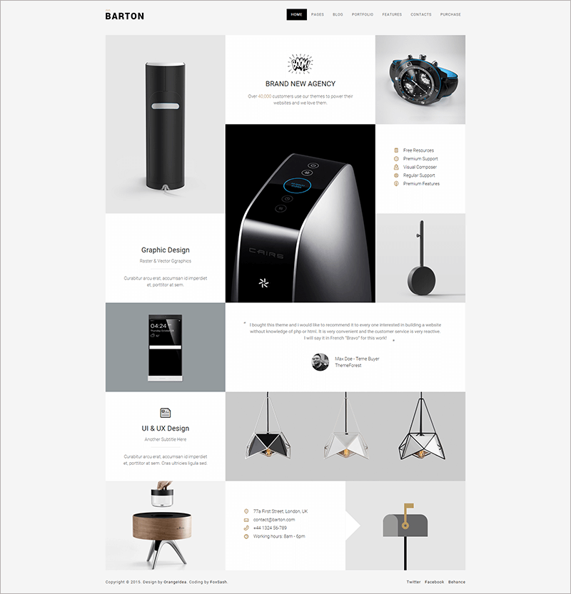 Smart Portfolio Theme for Creative People