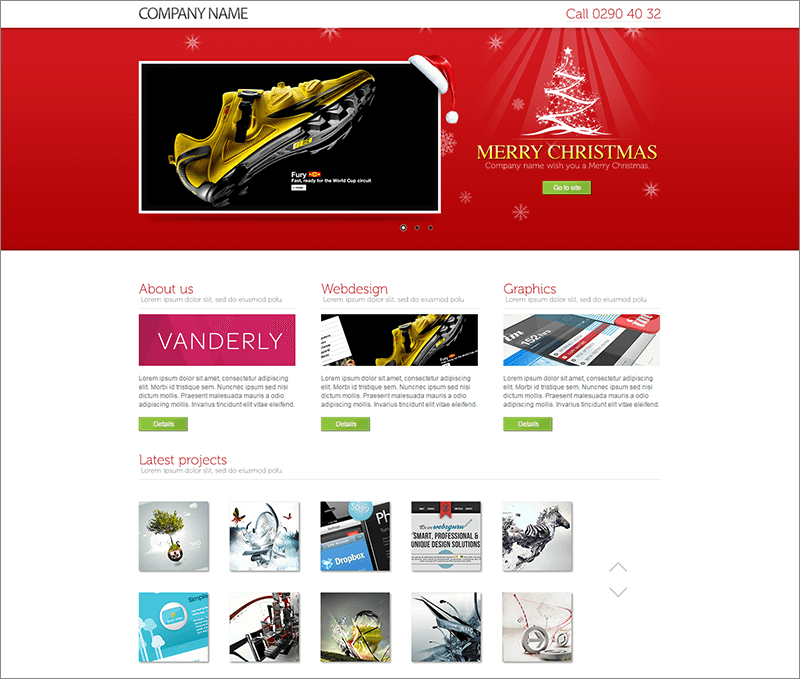 Best Landing Page for Christmas Offer