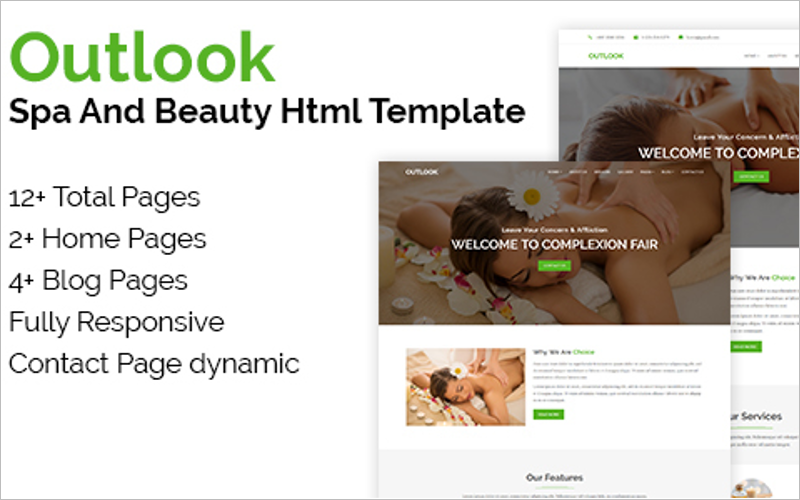 Spa & Beauty HTML Template