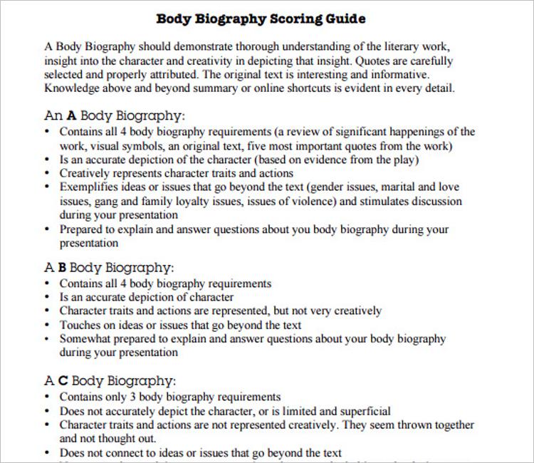 Biography Website Template