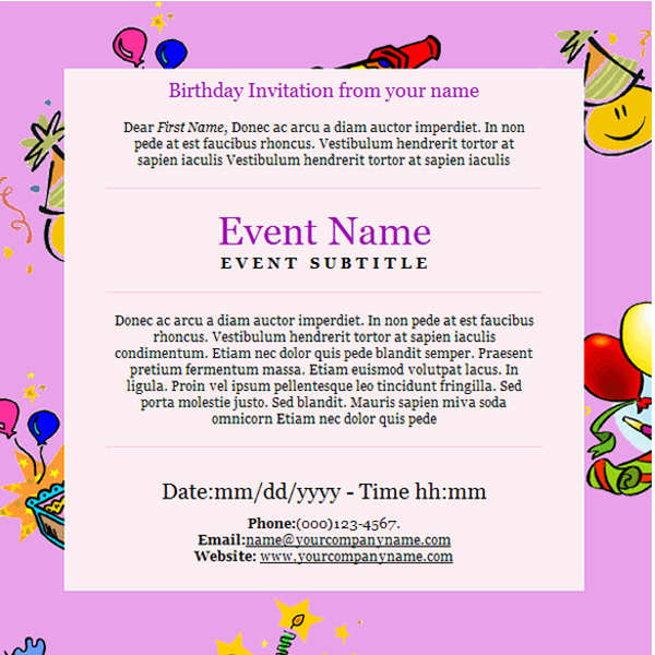 birth-day-email-templates