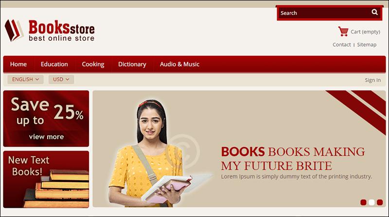 Book Store – Prestashop Responsive Theme