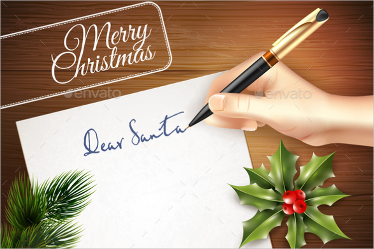 Christmas Letter Template Word