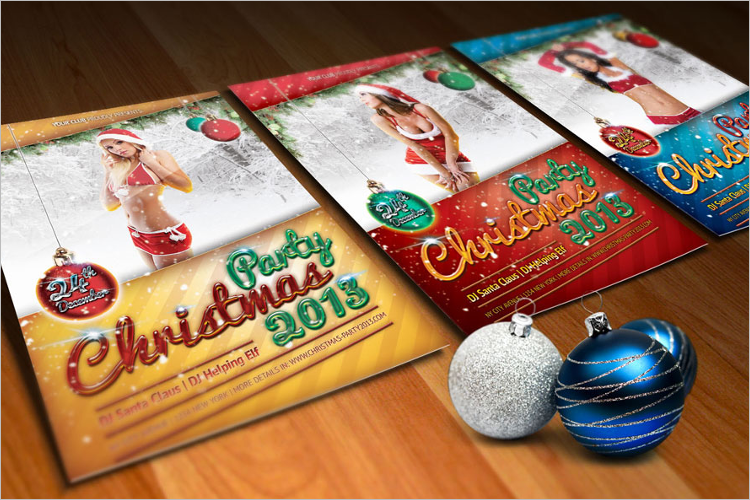 Christmas Poster Template Download