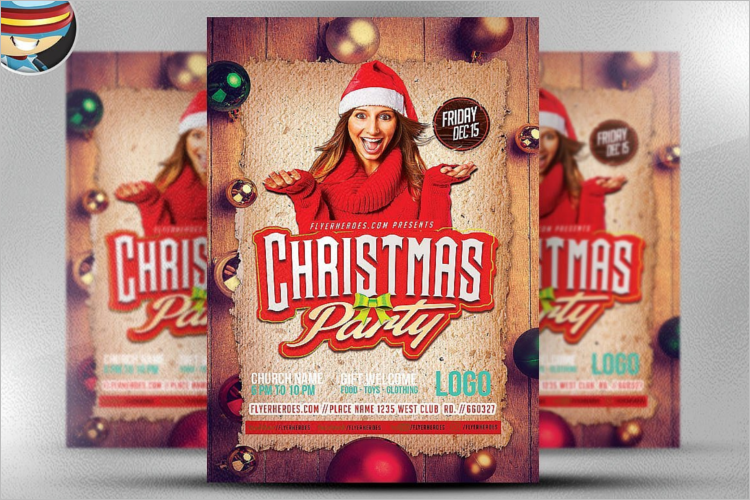 Christmas Poster Template Word