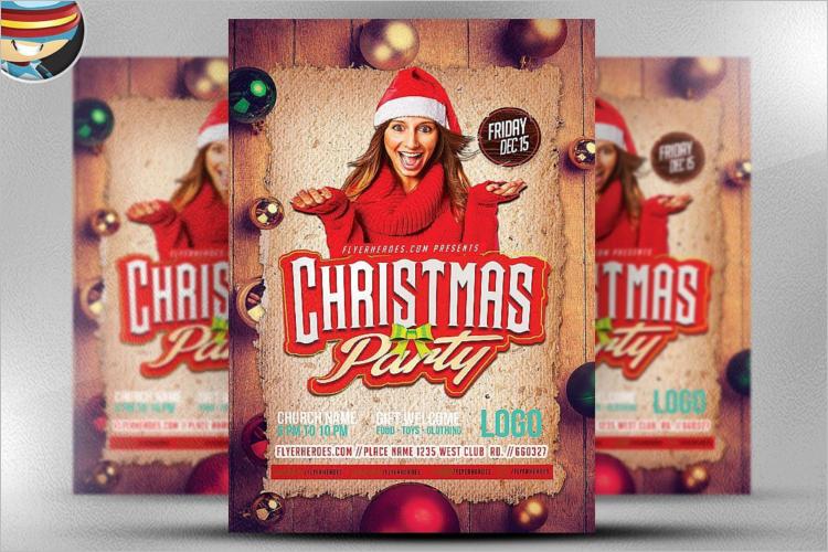 Christmas Poster Template Word