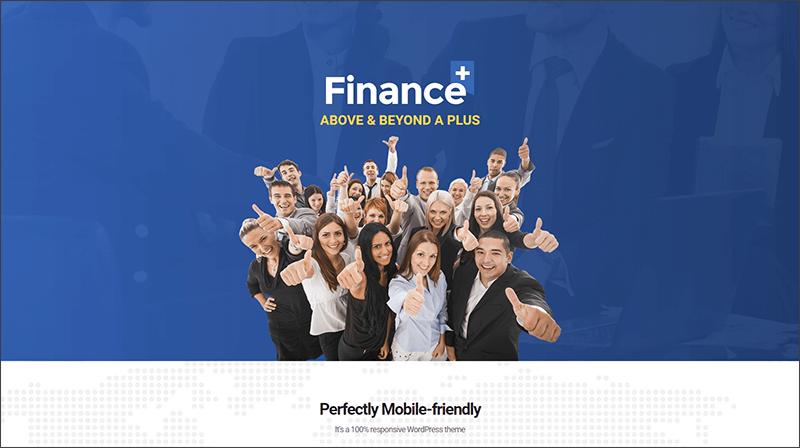 Finance & Business WordPress Theme