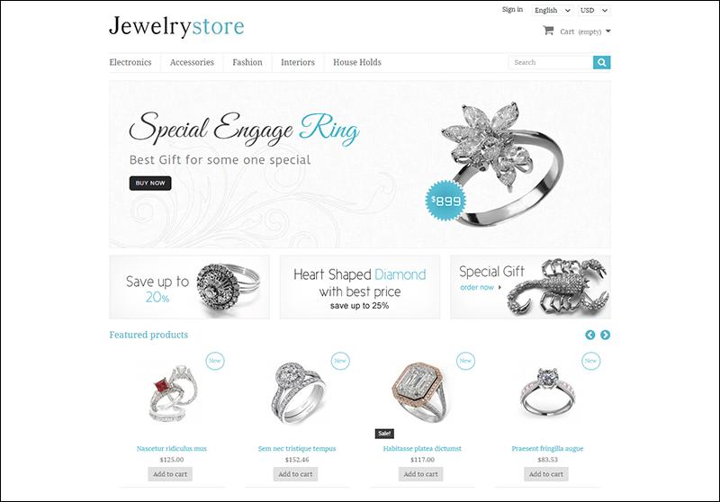 Jewelry Store – Prestashop Responsive Theme