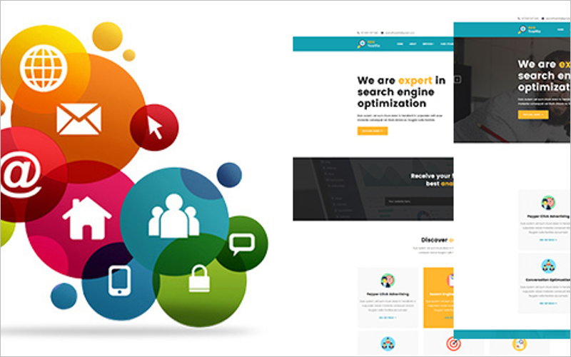 Marketing and SEO HTMl5 Template