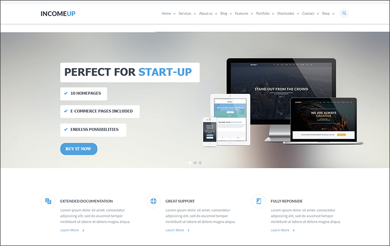 Multipurpose Drupal HTML Theme