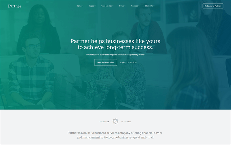 Responsive Accounting and Law WordPress Theme