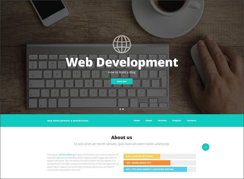 Responsive Web Design Website Template