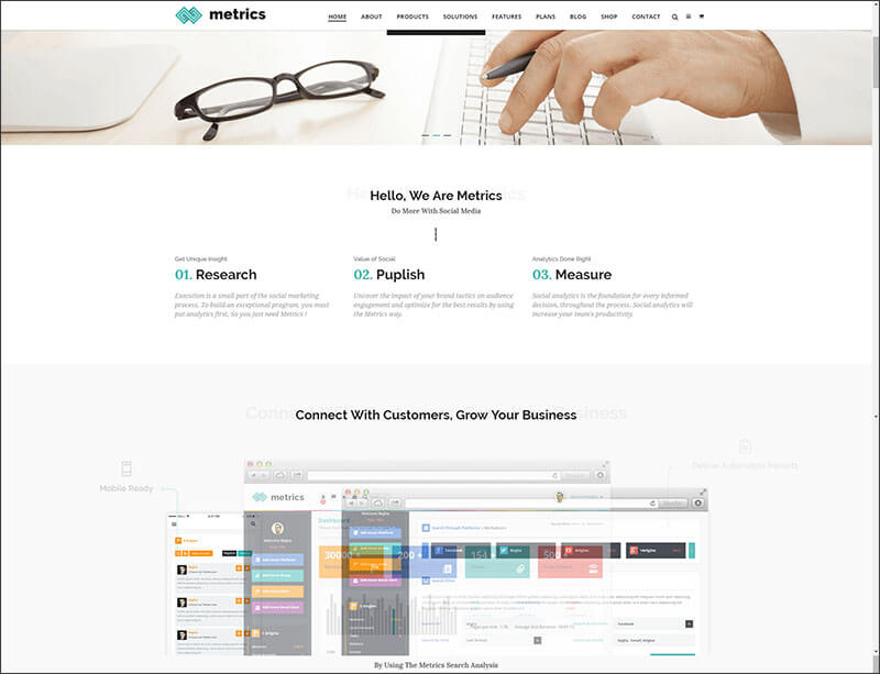 SEO, Digital Marketing, Social Media HTML Template