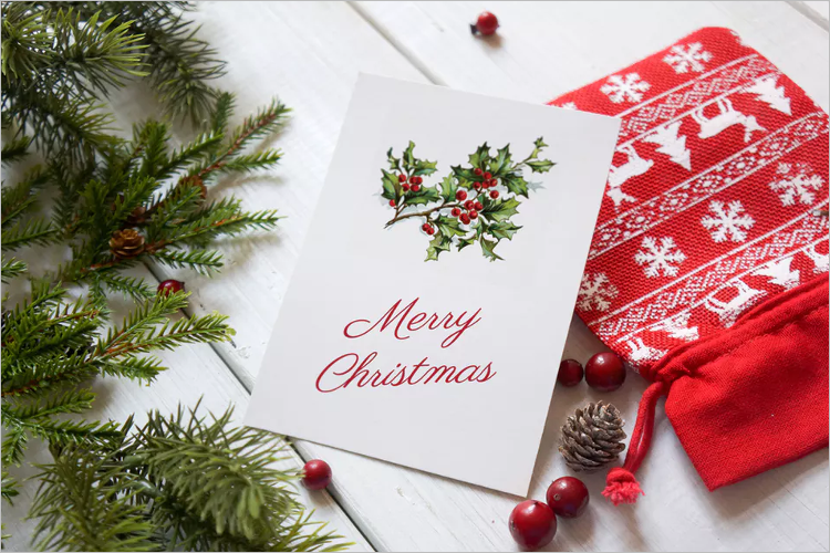 Simple Christmas Poster Template