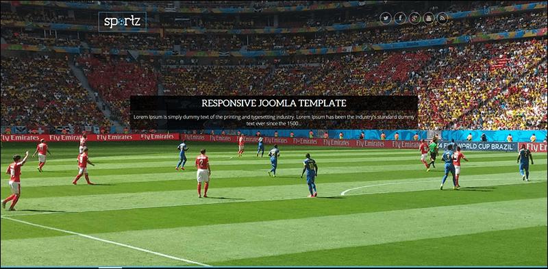 Sportz – Responsive Joomla News & Magazine Template