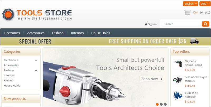 Tools Store – Prestashop Responsive Theme