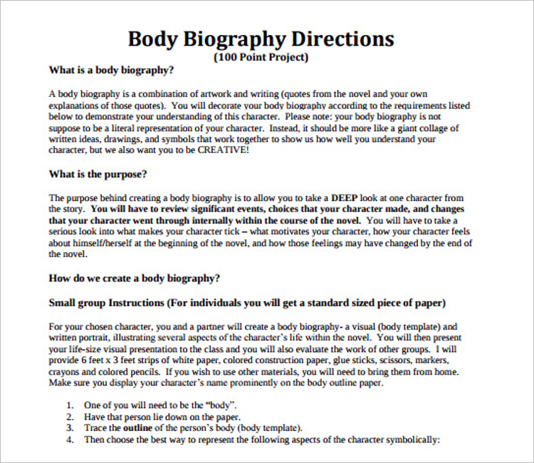 World Of Biography Template