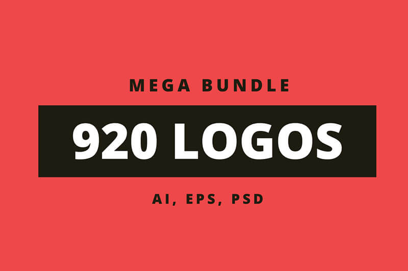 920 Creative Logos Mega Bundle